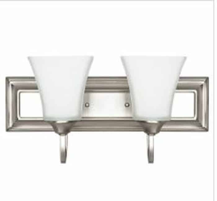 ADR-F3682-53 TWO LIGHT WALL SCONCE