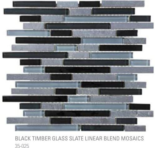 Bliss Linear - Black Timber