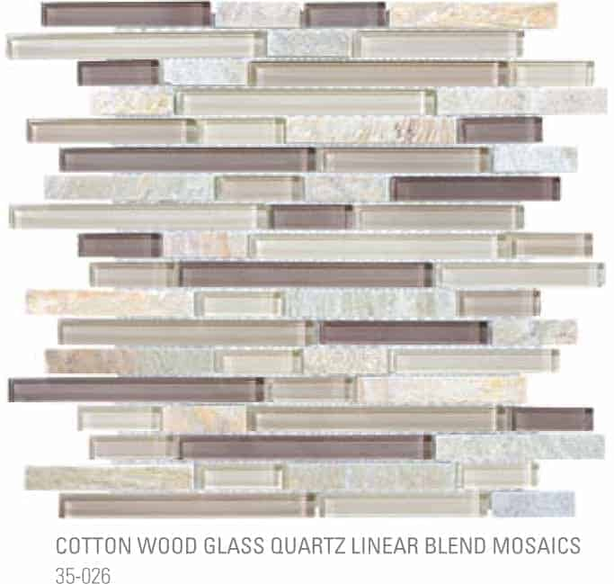 Bliss Linear - Cotton Wood