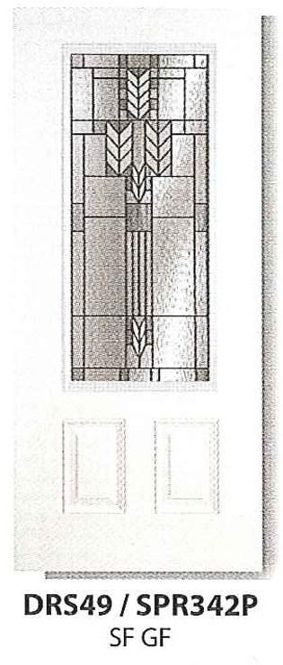 Exterior Doors - DRS49 / SPR342P