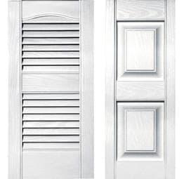 shutters bright white
