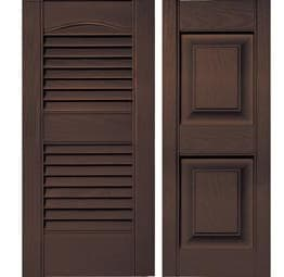 Shutters - Federal Brown