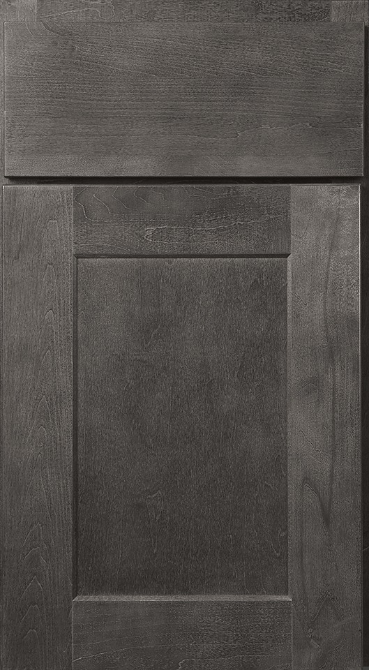 Wolf Cabinets - Expression - Dartmouth - Grey Stain