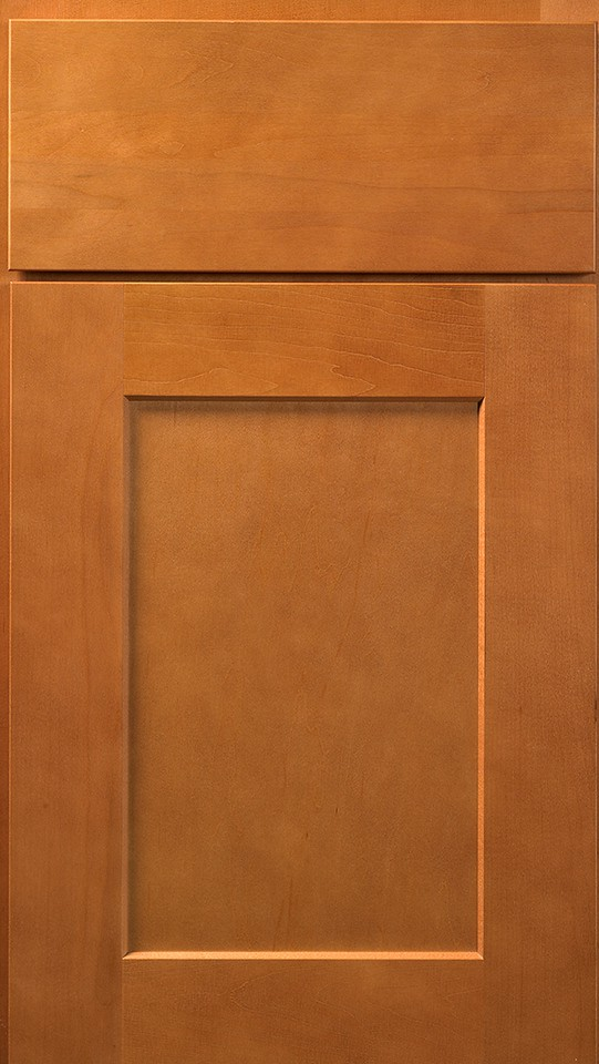 Wolf Cabinets - Expression - Dartmouth - Honey Stain