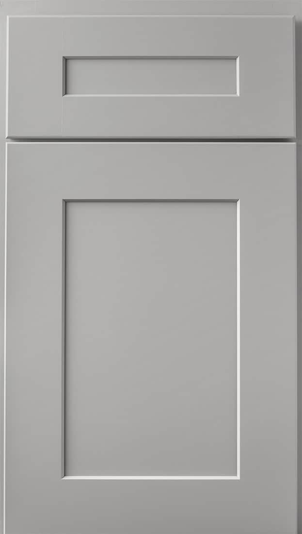 Wolf Cabinets - Expression - Dartmouth - Pewter Paint 5 Piece