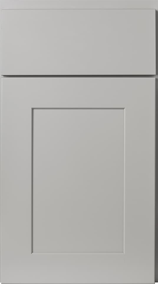 Wolf Cabinets - Expression - Dartmouth - Pewter Paint