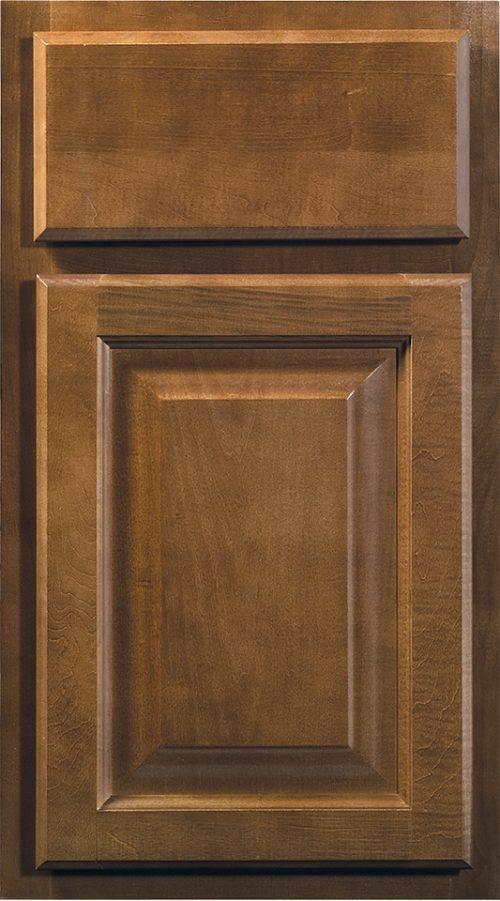 Wolf Cabinets - Insight - Saginaw - Chestnut Stain