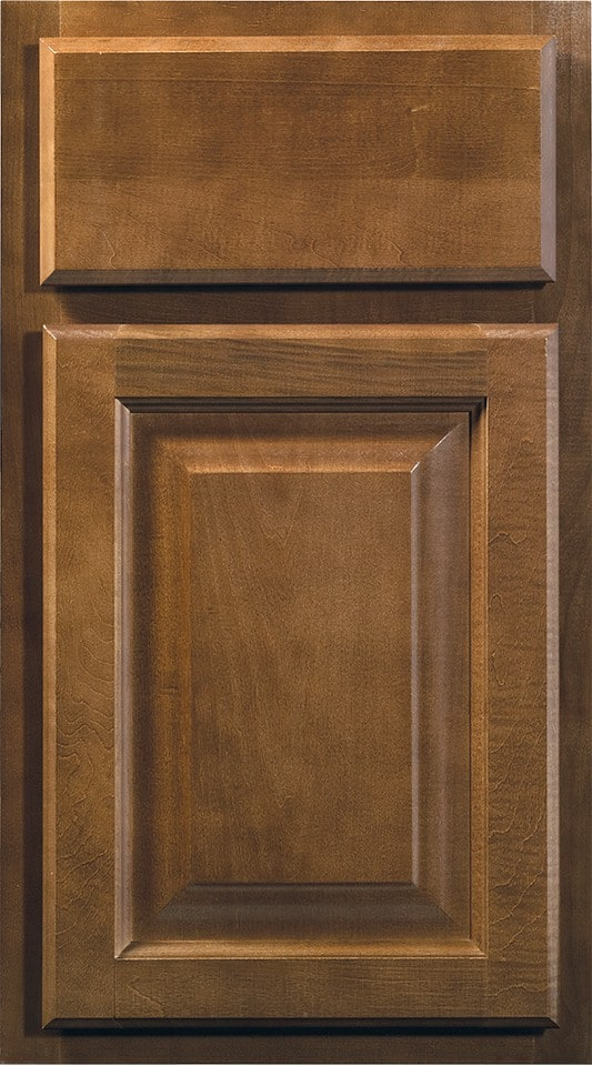Wolf Cabinets - Insight - Saginaw - Chestnut Stain