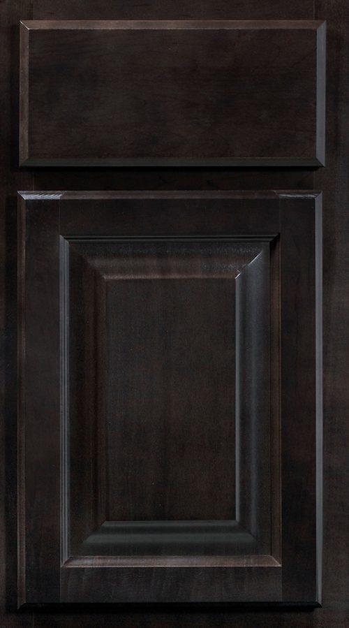 Wolf Cabinets - Insight - Saginaw - Dark Sable Stain