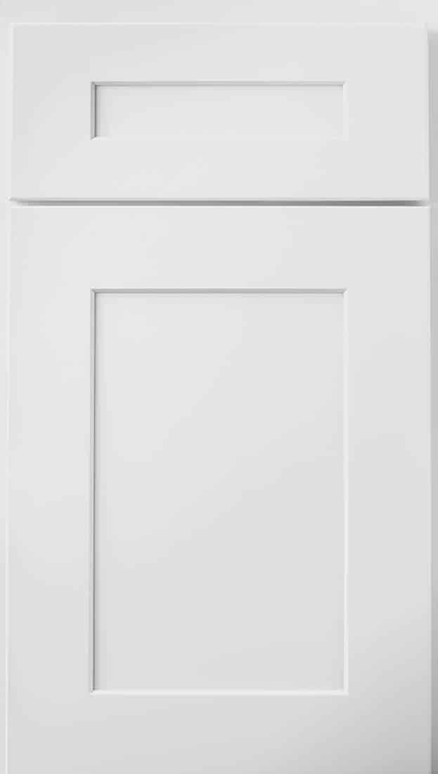 Wolf Cabinets - Expression - Dartmouth - White Paint 5 Piece