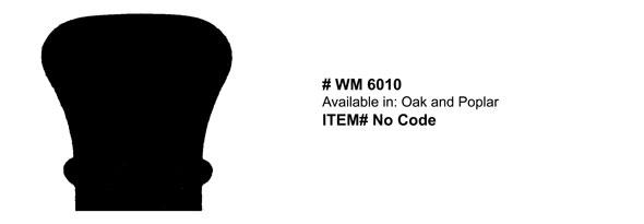 Trim - Rail Cap WM6010